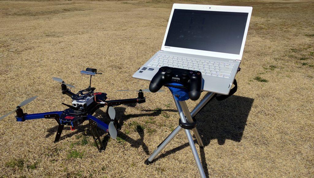 鳥瞰視点カメラロボット(ドローン)システム